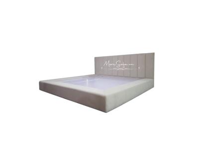 Picture of Giường ngủ bọc nỉ phong cách hiện đại, trẻ trung