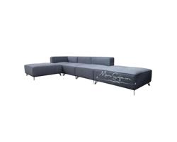 Picture of Mẫu sofa bọc nỉ kiểu dáng chữ L hiện đại