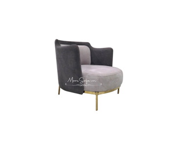 Picture of Mẫu sofa nỉ chân inox mạ vàng độc đáo và sang chảnh