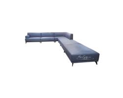 Picture of Mẫu sofa góc L bọc da phong cách hiện đại đầy trẻ trung